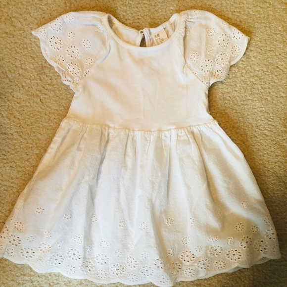 H&M Other - H&M White Toddler Dress